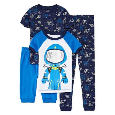 Baby Buns 4-pc. Pajama Set Boys