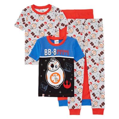 4-pc. Lego Star Wars Pajama Set Boys