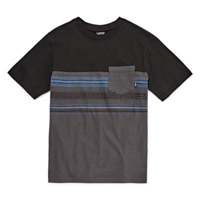 Vans Short Sleeve Fashion Crew Neck T-Shirt-Big Kid Boys