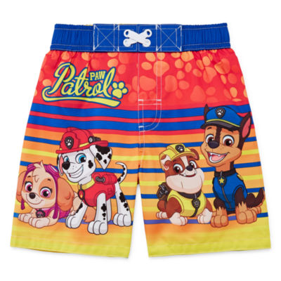 Paw Patrol Swim Trunks-Toddler Boys