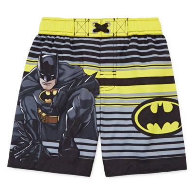 Batman Swim Trunks - Toddler Boys