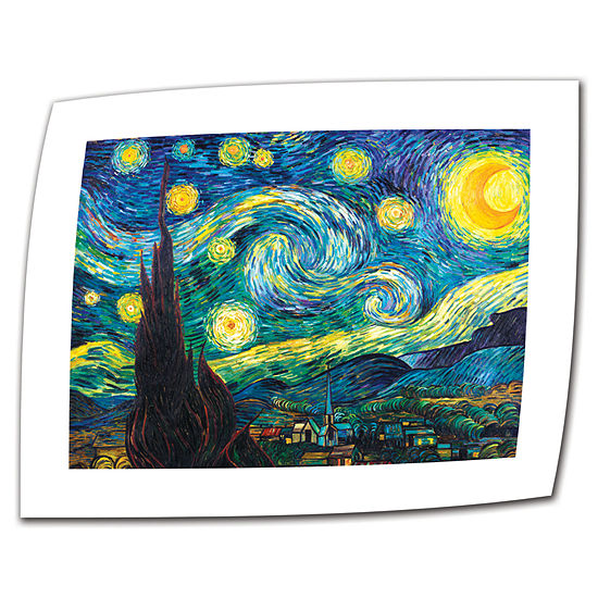 Brushstone Starry Night Canvas Wall Art