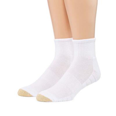 Gold Toe 2 Pair Quarter Socks-Mens