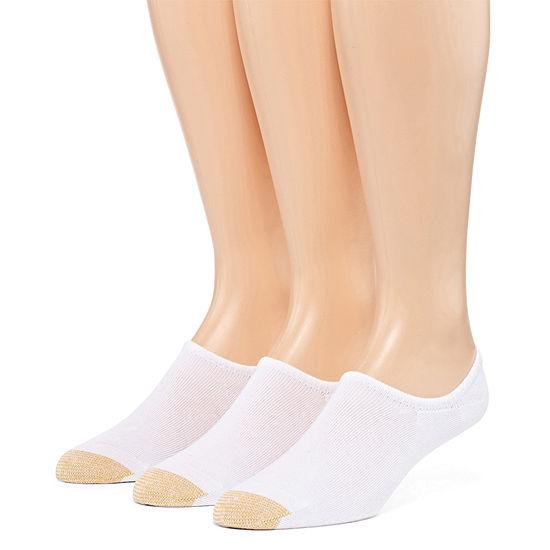 Gold Toe 3 Pair No Show Socks-Mens