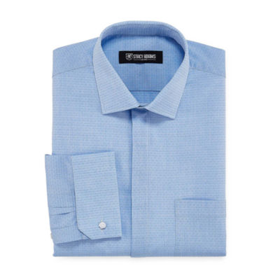 Stacy Adams Long Sleeve Dress Shirt - Big