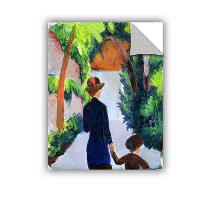 Brushstone MoTher and Child in The Park RemovableWall Decal