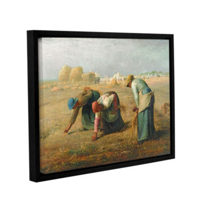 Brushstone The Gleaners Gallery Wrapped Floater-Framed Canvas Wall Art