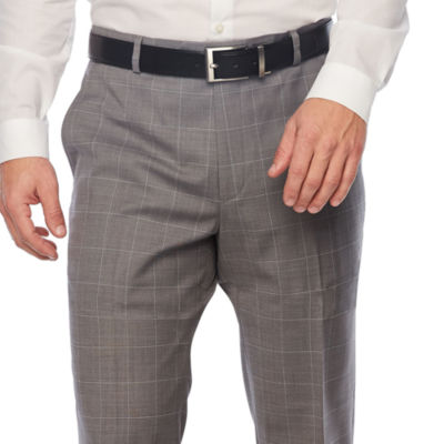 Stafford Grid Slim Fit Suit Pants