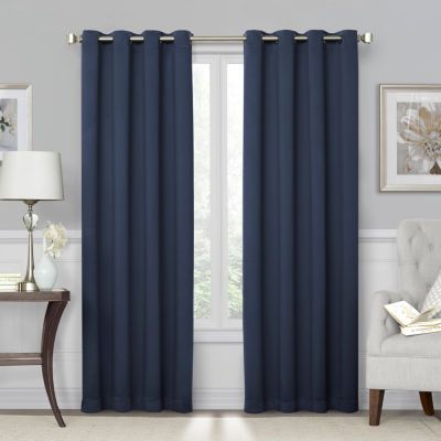 Sheridan 100% Blackout Grommet-Top Curtain Panel