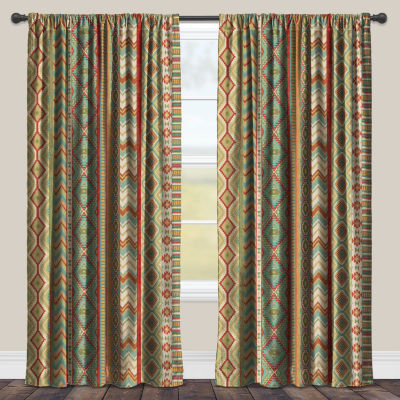 Laural Home Country Mood Sage Room Darkening Window Curtain