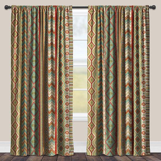 Laural Home Country Mood Sage Room Darkening Window Curtain