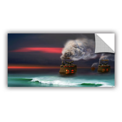Brushstone Arrival Removable Wall Decal