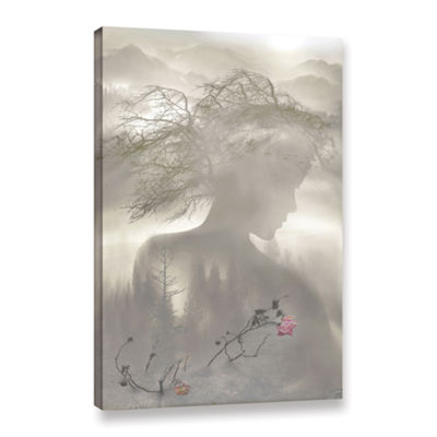 Brushstone Dreaming Spirit Gallery Wrapped CanvasWall Art