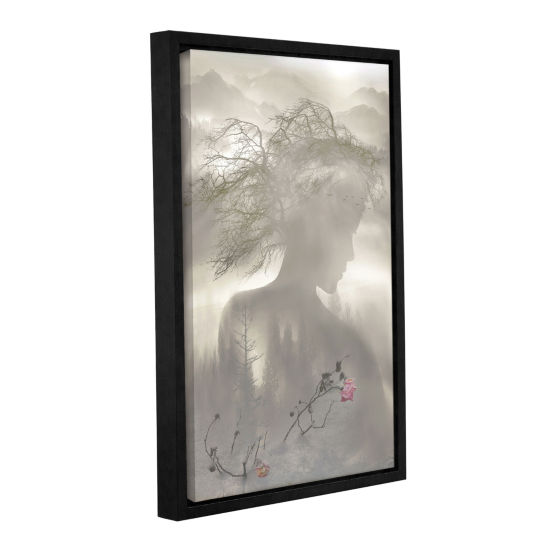 Brushstone Dreaming Spirit Gallery Wrapped Floater-Framed Canvas Wall Art