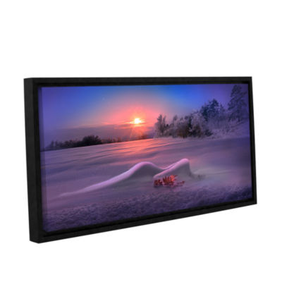 Brushstone Dreams Gallery Wrapped Floater-Framed Canvas Wall Art