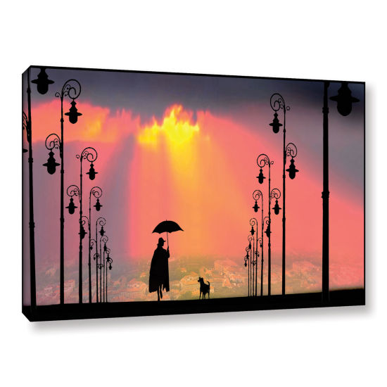 Brushstone Duet Gallery Wrapped Canvas Wall Art