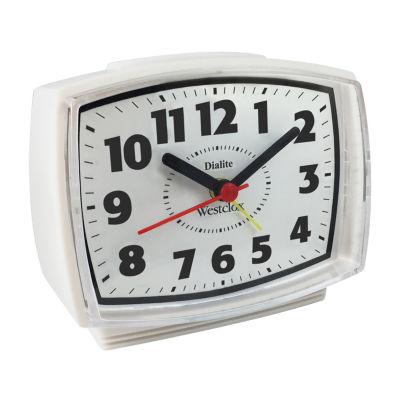 Westclox Alarm clock with Constant Lit Dial