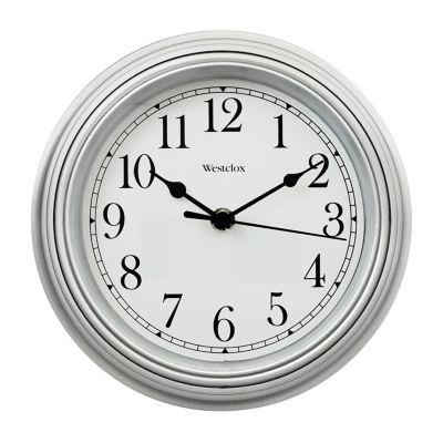 "Westclox 9"" Simplicity Clock with Bezel"""