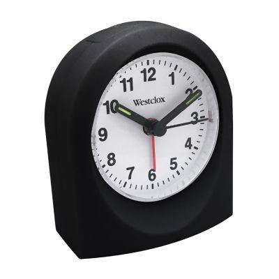 Westclox Bedside Analog Alarm Clock