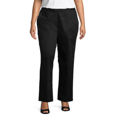 Alfred Dunner In The Limelight Classic Pant- Plus Short