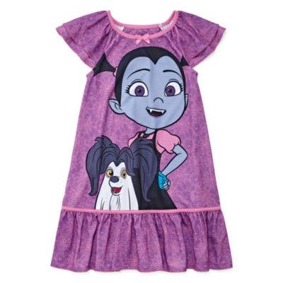 Disney Short Sleeve Nightshirt-Toddler Girls