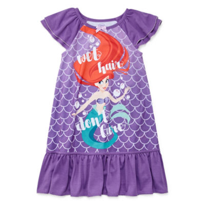 Disney The Little Mermaid Nightshirt-Toddler Girls