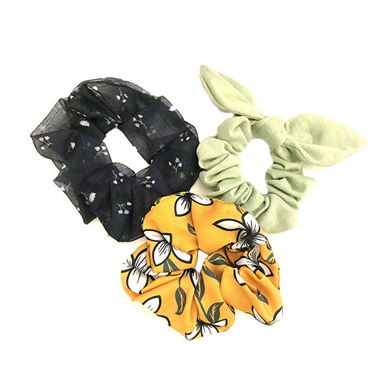 Arizona Scrunchie 3-pc. Hair Ties