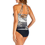 St. John's Bay Geometric Tankini Swimsuit Top