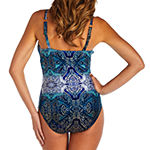 St. John's Bay Medallion One Piece Swimsuit