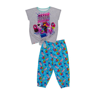 Lego Movie 2 2-pc. Lego Pant Pajama Set Girls