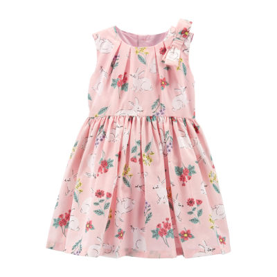 Carter's Sleeveless Fit & Flare Dress Girls