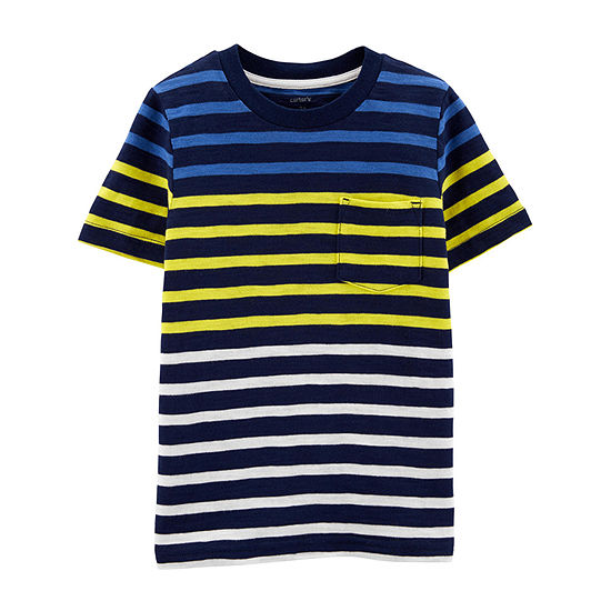 Carter's Boys Round Neck Short Sleeve T-Shirt-Baby