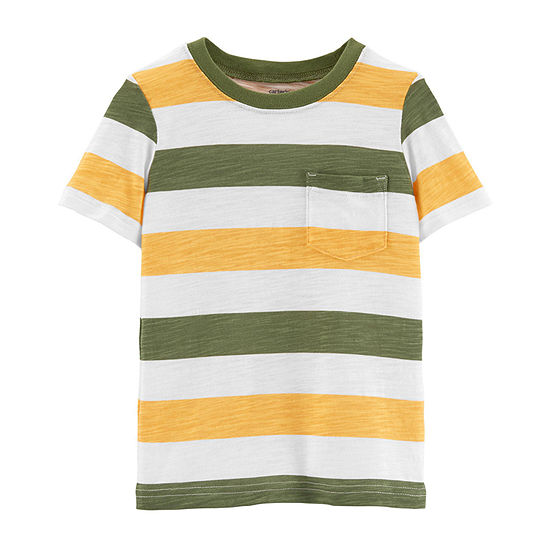 Carters Boys Round Neck Short Sleeve T Shirt Baby