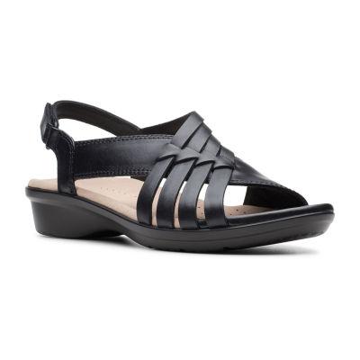 Clarks Womens Loomis Cassey Strap Sandals