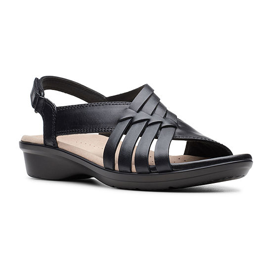 Clarks Womens Loomis Cassey Strap Sandals