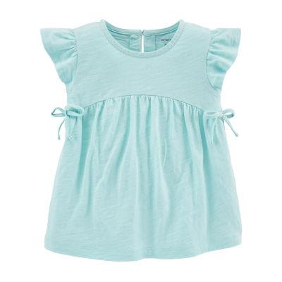 Carter's Girls Round Neck Short Sleeve T-Shirt