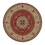 Concord Global Trading Ankara Collection Chateau Accent, Area, Rectangular and Round Rugs