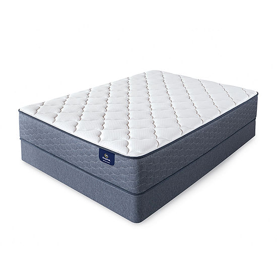Serta® Sleeptrue® Culberson Plush - Mattress + Box Spring