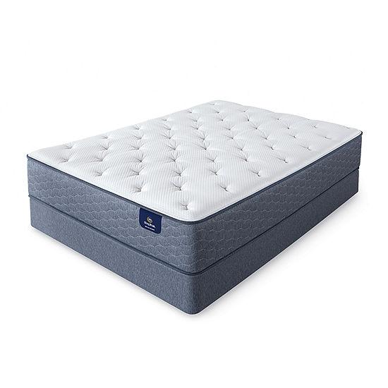 Serta® Sleeptrue® Lindridge Plush - Mattress + Box Spring