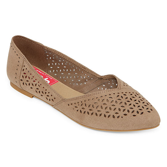 Pop Womens Robbin Ballet Flats Closed Toe