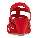 east 5th Womens Jaylee Wedge Sandals
