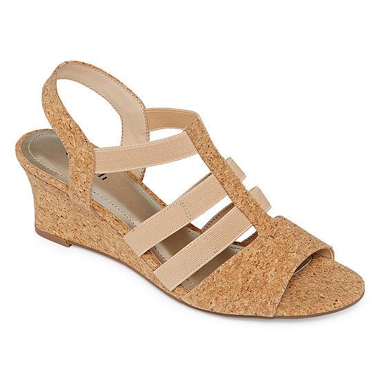 east 5th Womens Jaylee Wedge Sandals