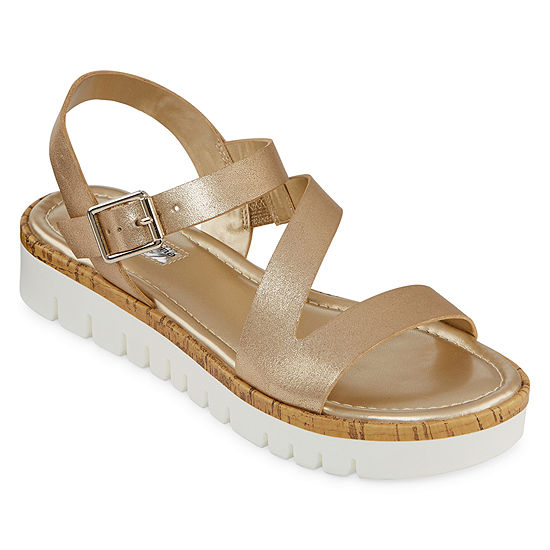 Liz Claiborne Womens Burke Heeled Sandals