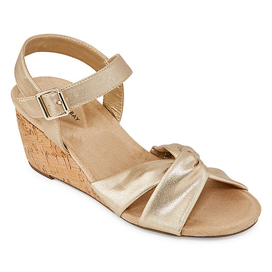 eb08c774c6ff St. John s Bay Womens Pasadena Wedge Sandals - JCPenney