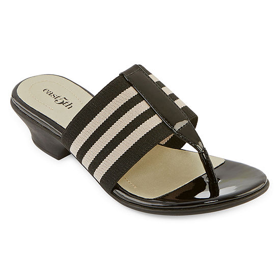east 5th Womens Oyster Heeled Sandals