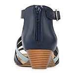 St. John's Bay Womens Nixon Wedge Sandals
