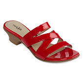best service ba8ba b25a1 east 5th Womens Evie Heeled Sandals