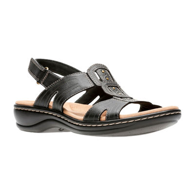 Clarks Womens Leisa Vine Strap Sandals