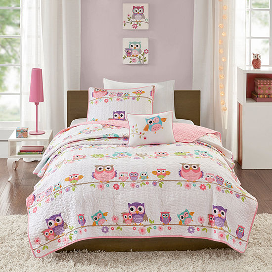 Mi Zone Kids Noctural Nellie Reversible Coverlet Set