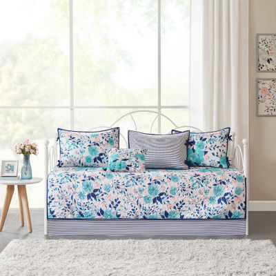 Intelligent Design Tiffany Delle 6-pc. Floral Reversible Daybed Cover Set